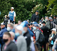 3rd July 2021; Mount Juliet Golf Club, Kilkenny, Ireland; Dubai Duty Free Irish Open Golf, Day Three; Rory Mcilroy of Northern Ireland reacts to his drive on the 3rd hole