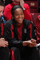 14 February 2008:Melanie Murphy and Jillian Harmon during Stanford's 69-46 win over Arizona at Maples Pavilion in Stanford, CA.