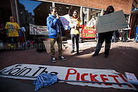 """15.03.2017 - """"LSE Cleaners Strike for Dignity & Equality"""" - Strike: Day 1"""