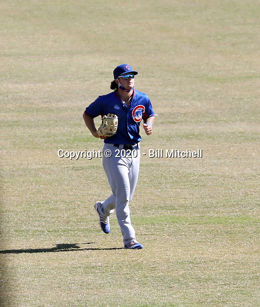 Cole Roederer - 2020 AIL Cubs (Bill Mitchell)