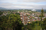 The rooftops of Salento, in the highlands of Colombia..