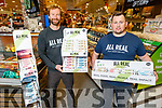 Ross McDowd and Niall Harty of All Real Protein Bars being launched in Garveys on Friday
