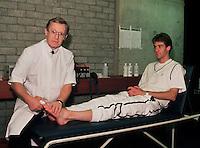 1989, ABNWTT, Fysio Leo Taal behandeld Jarryd