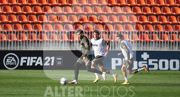 Atletico de Madrid's Angel Correa during training session. October 9,2020.(ALTERPHOTOS/Atletico de Madrid/Pool)