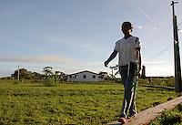 Santa Cruz do Arari. Ilha de Marajó.<br /> Santa Cruz do Arari, Pará, Brasil.<br /> 09/05/2006<br /> Foto Paulo Santos/Interfoto