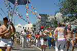 """Seattle, Fremont Solstice Parade, Fremont neighborhood has dubbed itself the """"Center of the Universe"""" Washington State, Pacific Northwest, USA,"""