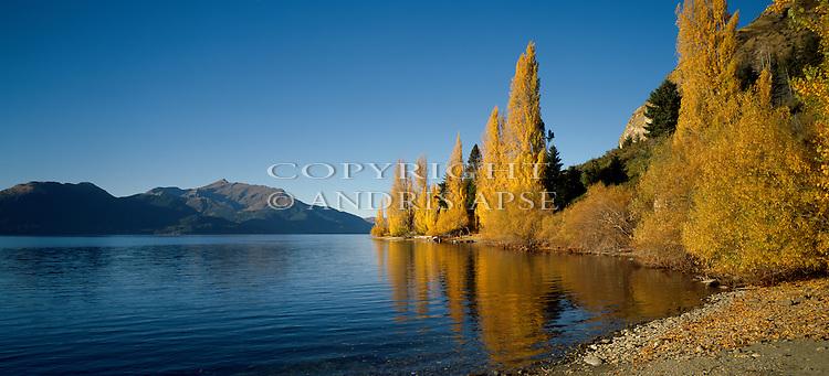 Lake Wakatipu. Otago Region. New Zealand.