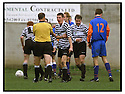 22nd Oct 99                          Copyright Pic : James Stewart .Ref :                           .File Name : stewart04-shire v queens park                        .SHIRE PLAYERS PROTEST TO REFEREE J.A. HERALD AFTER HE AWARDED A PENALTY TO QUEENS PARK LATE IN THE GAME....Payments to :-.James Stewart Photo Agency, Stewart House, Stewart Road, Falkirk. FK2 7AS      Vat Reg No. 607 6932 25.Office : +44 (0) 1324 630007        Mobile : 07721 416997.Fax     : +44 (0) 1324 630007.E-mail : jim@jspa.co.uk.If you require further information then contact Jim Stewart on any of the numbers above.........
