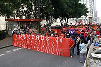 24.07.2019 - Ato pela liberdade dos líderes de movimentos de Moradia em SP