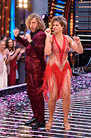 """Sean Walsh and Kate Silverton<br /> at the launch of """"Strictly Come Dancing"""" 2018, BBC Broadcasting House, London<br /> <br /> ©Ash Knotek  D3426  27/08/2018"""