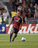 Real Salt Lake midfielder/defender Robbie Russell (3). Real Salt Lake tied the Colorado Rockies, 1-1, at Rio Tinto Stadium on June 6, 2009.