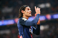 EDINSON CAVANI (psg) <br /> Parigi 16-12-2015 <br /> Paris St Germain vs AS Saint Etienne <br /> Foto Stephane Allaman / Panoramic