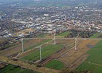 Windkraft in Bergedorf : EUROPA, DEUTSCHLAND, HAMBURG, (EUROPE, GERMANY), 22.03.2017: Windkraft in Bergedorf