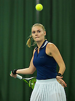 Rotterdam, The Netherlands, March 18, 2016,  TV Victoria, NOJK 14/18 years, Dewi Dijkman (NED)<br /> Photo: Tennisimages/Henk Koster