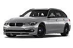 Stock pictures of low aggressive front three quarter view of a 2018 Alpina B3 S Touring Base 5 Door Wagon