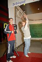 22-2-07,Tennis,Netherlands,Rotterdam,ABNAMROWTT, Service speed mesurement with Thiemo de Bakker