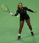 September 5,2019:  Serena Williams (USA) defeated Elina Svitolina (UKR) 6-3, 6-1, at the US Open being played at Billie Jean King National Tennis Center in Flushing, Queens, NY.  ©Jo Becktold/CSM