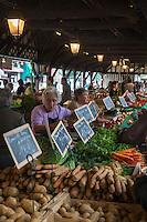 France, Calvados (14), Côte Fleurie, Deauville, Le Marché // France, Calvados, Cote Fleurie, Deauville, The market [Non destiné à un usage publicitaire - Not intended for an advertising use]