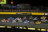 #19: Daniel Suarez, Joe Gibbs Racing, Toyota Camry ARRIS and #11: Denny Hamlin, Joe Gibbs Racing, Toyota Camry FedEx Express
