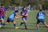 Action from the Horowhenua-Kapiti premier club rugby union match between  Rahui and Levin College Old Boys at Otaki Domain in Otaki, New Zealand on Saturday, 18 July 2020. Photo: Dave Lintott / lintottphoto.co.nz