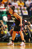 6 April 2008: Stanford Cardinal Jillian Harmon during Stanford's 82-73 win against the Connecticut Huskies in the 2008 NCAA Division I Women's Basketball Final Four semifinal game at the St. Pete Times Forum Arena in Tampa Bay, FL.