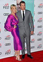 "LOS ANGELES, USA. November 17, 2019: Molly Sims & Scott Stuber at the gala screening for ""The Two Popes"" as part of the AFI Fest 2019 at the TCL Chinese Theatre.<br /> Picture: Paul Smith/Featureflash"