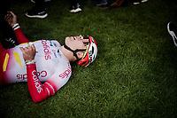 Hugo Hofstetter (FRA/Cofidis) gave his all<br /> <br /> 117th Paris-Roubaix 2019 (1.UWT)<br /> One day race from Compiègne to Roubaix (FRA/257km)<br /> <br /> ©kramon