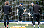 St Johnstone Training….29.01.19    McDiarmid Park<br />Keepers Zander Clark and Mark Hurst pictured during training ahead of tomorrow's game at Celtic.<br />Picture by Graeme Hart.<br />Copyright Perthshire Picture Agency<br />Tel: 01738 623350  Mobile: 07990 594431
