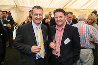Richard Altoft of Handelsbanken and Christopher Meldrum of Aldermore Bank