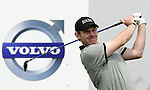 SUZHOU, CHINA - APRIL 17:  Stephen Gallacher of Scotland tees off on the 9th hole during the Round Three of the Volvo China Open on April 17, 2010 in Suzhou, China. Photo by Victor Fraile / The Power of Sport Images