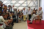 Mostra Internazionale d'Arte Cinematografica di Venezia,Venice International Film Festival, 2 settembre 2002.John Malkovich