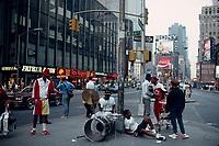 New-York (NY) USA - February 1988 File Photo -
