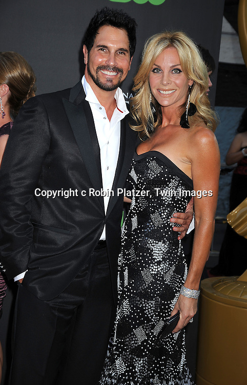 Don Diamont and wife
