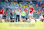 Kerry Manager Peter Keane during the Munster GAA Football Senior Championship Final match between Kerry and Cork at Fitzgerald Stadium in Killarney on Sunday.