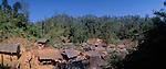 www.travel-lightart.com, ©Paul J. Trummer, Asia, Countries, Country, Geography, Thailand, Asien, Geografie, Länder, Siam, Staat, Staaten, Padaung, Long neck village, Ban Noi Soi, near Mae Hong Son,, landscape, landscape form, landscape forms, landscapes, manmade landscape, mountain village, mountain villages, Bergdoerfer, Bergdorf, Bergdörfer, Kulturlandschaft, Kulturlandschaften, Landschaftsform, Landschaftsformen, Ort, Orte, Ortschaft, Weiler, Architektur, Bambushuette, Bambushütte, bauten, Bauwerke, Gebäude, Haus, Architecture, bamboo hut, building, buildings, house, Baeume, Baum, Bäume, Natur, Wald, Wälder, forest, forests, nature, tree, trees, woods