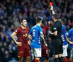 11.11.18 Rangers v Motherwell: Carl McHugh sent off