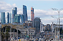 29/09/18 - MOSCOU - RUSSIE - Illustration, quartier des affaires de Moscou - Photo Jerome CHABANNE