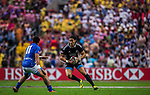 New Zealand vs Samoa during the Cathay Pacific / HSBC Hong Kong Sevens at the Hong Kong Stadium on 29 March 2014 in Hong Kong, China. Photo by Xaume Olleros / Power Sport Images