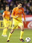 FC Barcelona's Sergio Busquets during Spanish King's Cup match.October 30,2012. (ALTERPHOTOS/Acero)