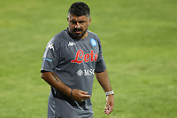 Gennaro Gattuso coach of SSC Napoli<br /> during the friendly football match between SSC Napoli and L Aquila 1927 at stadio Patini in Castel di Sangro, Italy, August 28, 2020. <br /> Photo Cesare Purini / Insidefoto