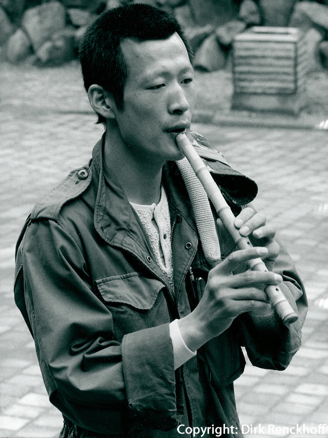 in Chinju, Korea 1986