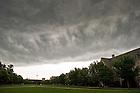 July 22, 2011; Storm clouds pass over South Quad...Photo by Matt Cashore/University of Notre Dame