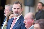 King Felipe VI of Spain attends to National Sport Awards 2016 at El Pardo Palace in Madrid , Spain. February 19, 2018. (ALTERPHOTOS/Borja B.Hojas)