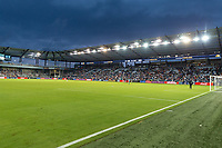 KANSAS CITY, KS - JULY 11: Children's Mercy Park during a game between Haiti and USMNT at Children's Mercy Park on July 11, 2021 in Kansas City, Kansas.