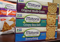Dec. 8, 2015. Carlsbad,  CA. USA Some of Milton's Baking/Milton's Crackers products.  Photos by Jamie Scott Lytle. Copyright.