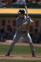 Nick Punto. Baseball: Minnesota Twins vs Oakland Athletics at McAfee Coliseum in Oakland, CA on June 3, 2006. Photo by Brad Mangin