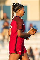 Bradenton, FL - Sunday, June 12, 2018: CONCACAF awards, Kennedy Wesley during a U-17 Women's Championship Finals match between USA and Mexico at IMG Academy.  USA defeated Mexico 3-2 to win the championship.