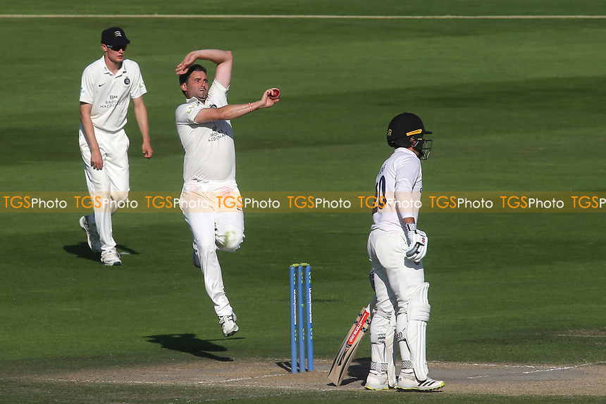 Middlesex bowler, Tim Murtagh in action during Sussex CCC vs Middlesex CCC, LV Insurance County Championship Division 3 Cricket at The 1st Central County Ground on 7th September 2021