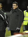 07/01/2009  Copyright Pic: James Stewart.File Name : sct_jspa13_motherwell_v_hearts.MOTHERWELL MANAGER MARK MCGHEE WATCHES HIS SIDE BEAT HEARTS.James Stewart Photo Agency 19 Carronlea Drive, Falkirk. FK2 8DN      Vat Reg No. 607 6932 25.Studio      : +44 (0)1324 611191 .Mobile      : +44 (0)7721 416997.E-mail  :  jim@jspa.co.uk.If you require further information then contact Jim Stewart on any of the numbers above.........