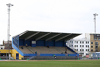 The main stand at the Mile End Stadium - Bethnal Green United vs Stansted - Essex Senior League Football at the Mile End Stadium - 05/03/11 - MANDATORY CREDIT: Gavin Ellis/TGSPHOTO - Self billing applies where appropriate - Tel: 0845 094 6026